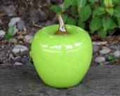 Green Glass Apple, Hand B...