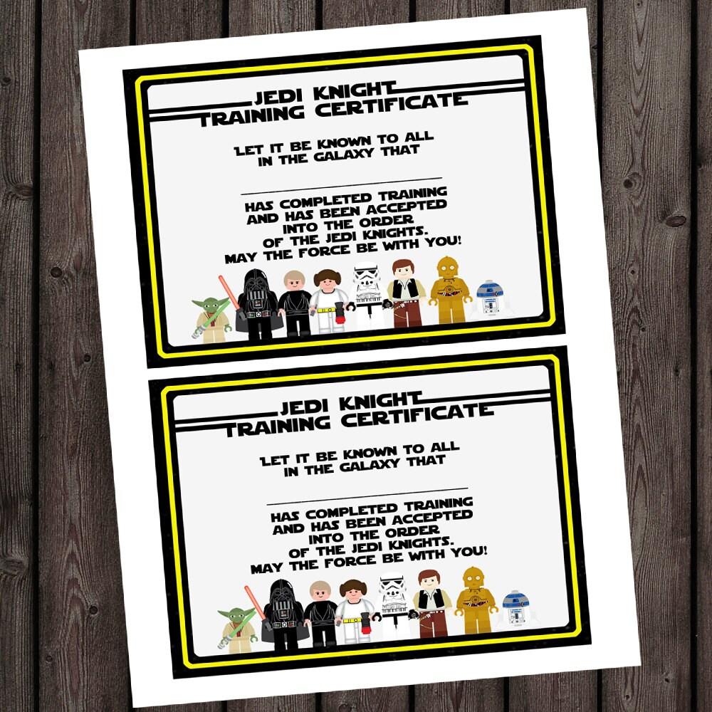 Starwars jedi knight certificate jedi training camp zoom alramifo Images