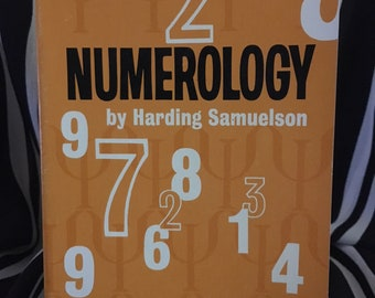 Numerology by Harding Samuelson - 1970 paperback