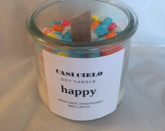 "Casi Cielo ""Happy"" Candle--Small"