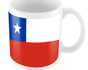 Chile Road To World Cup Ceramic Mug Gift Birthday Present Novelty Brasil 2014