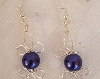 Silver Plated Celtic Knot Earrings