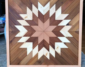 Barn Quilt Art Wood Beauty Reclaimed Woods