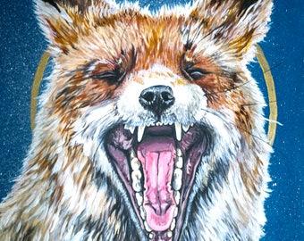 Sleepless Fox