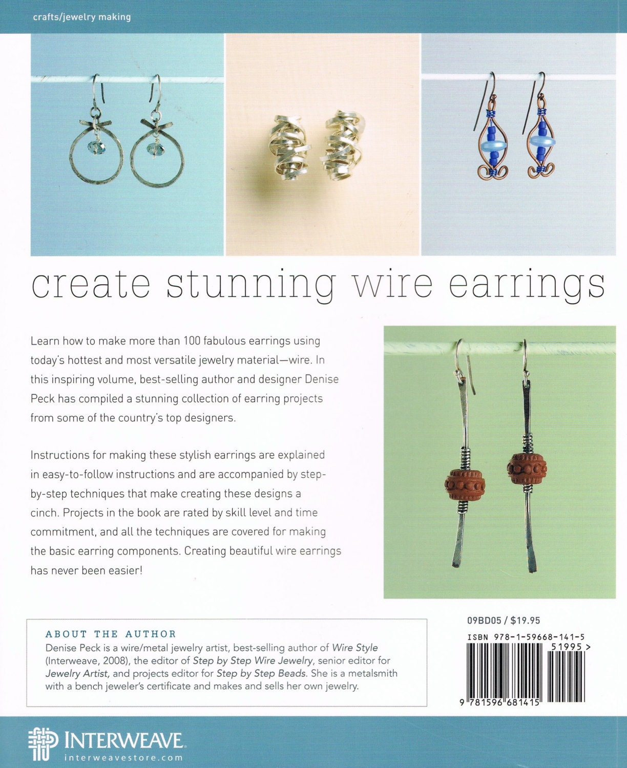 101 Wire Earrings, Step by Step Projects & Techniques, Earring Ideas ...