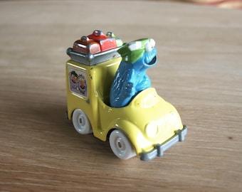 Vintage Playskool 1981 1983 Muppets Inc. Sesame Street Cookie Monster Die Cast Car
