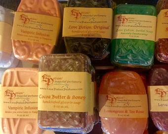 Ashes to Dust - Aloe Infused Bar Soap - Love Potion Magickal Perfumerie