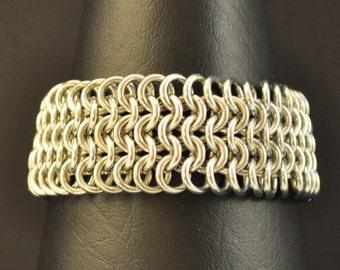 European 4in1 Chainmaille Bracelet B114