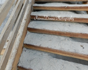 Sandy Stairs By the Beach