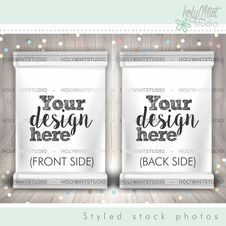 chips bag mockup cookie bag mockup candies bag popcorn bag. Black Bedroom Furniture Sets. Home Design Ideas