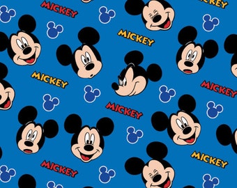Disney Mickey Mouse Expressions Fabric From Springs Creative