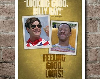 "Trading Places ""Looking Good - Feeling Good!"" Quotes Poster"