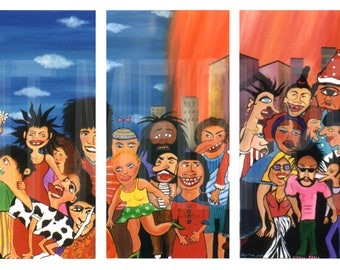 ORIGINAL PAINTINGS (acrylic on canvas)