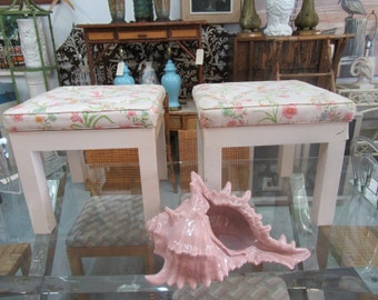 Pair of Parson Style Benches