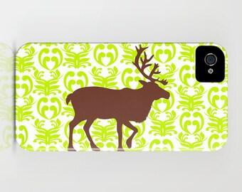 Brown Reindeer on Phone Case  brown, color,   iPhone 6S, iPhone 6 Plus, iPhone 8