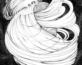 Neptune (9x12 inch print)