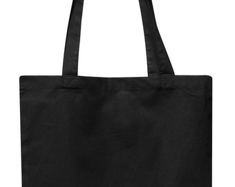 Black Cotton Tote
