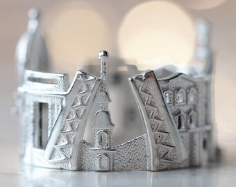 Saint Petersburg Gift Idea for Her - Skyline Ring - Statement Ring - Mothers Day Gift - Easter Gift - Anniversary Gift - Gift for Architect