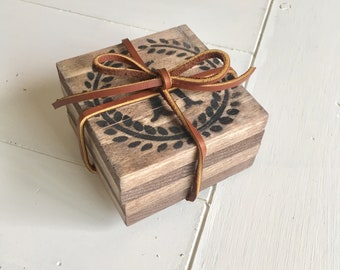 Reclaimed Wood Coaster