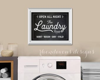 Laundry Room Art Print. Laundry Sign. Laundry Room Sign. Farmhouse Decor Art. Laundry Room Decor. Laundry Room Print. Laundry Art. S491