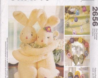 Easter Decor Pattern McCalls Crafts 2656 Uncut