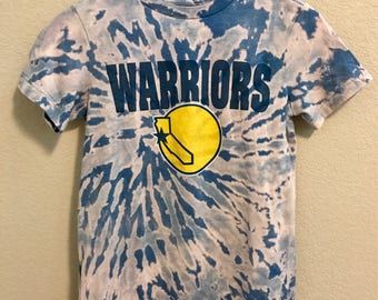 Tie Dye Golden State Warriors Youth M or Women's XS NBA Shirt