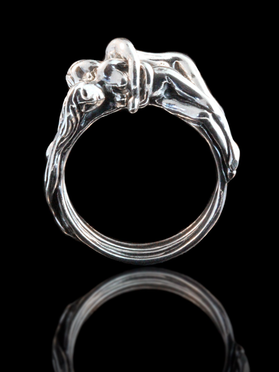 zoom - Puzzle Wedding Rings
