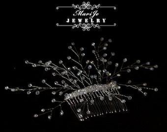 Bridal Hair Comb Crystal Bridal Comb Wedding Hair Comb