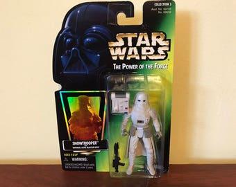 Vintage Star Wars Snowtrooper Toy Figure