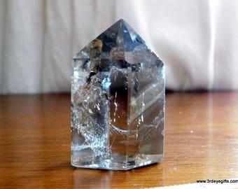 Smoky Quartz Tower, Quartz Point, Crystal Points, Polished Quartz, Smoky Quartz Point, Healing Crystal, Smoky Quartz ~1189