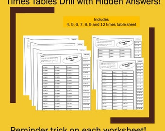 Times Tables Worksheets pdf,  Worksheets Printable with Answers, Fun Multiplication Worksheets grade 4, Printable Multiplication Worksheets