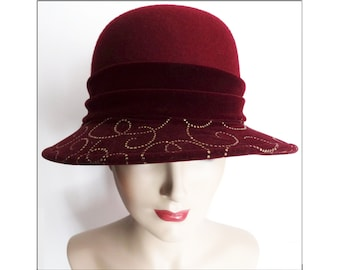 Vintage 1960s Hat//60s Hat//Commodore//Femme Fatale// Couture// Mad Men//Bombshell//New Look//Hollywood