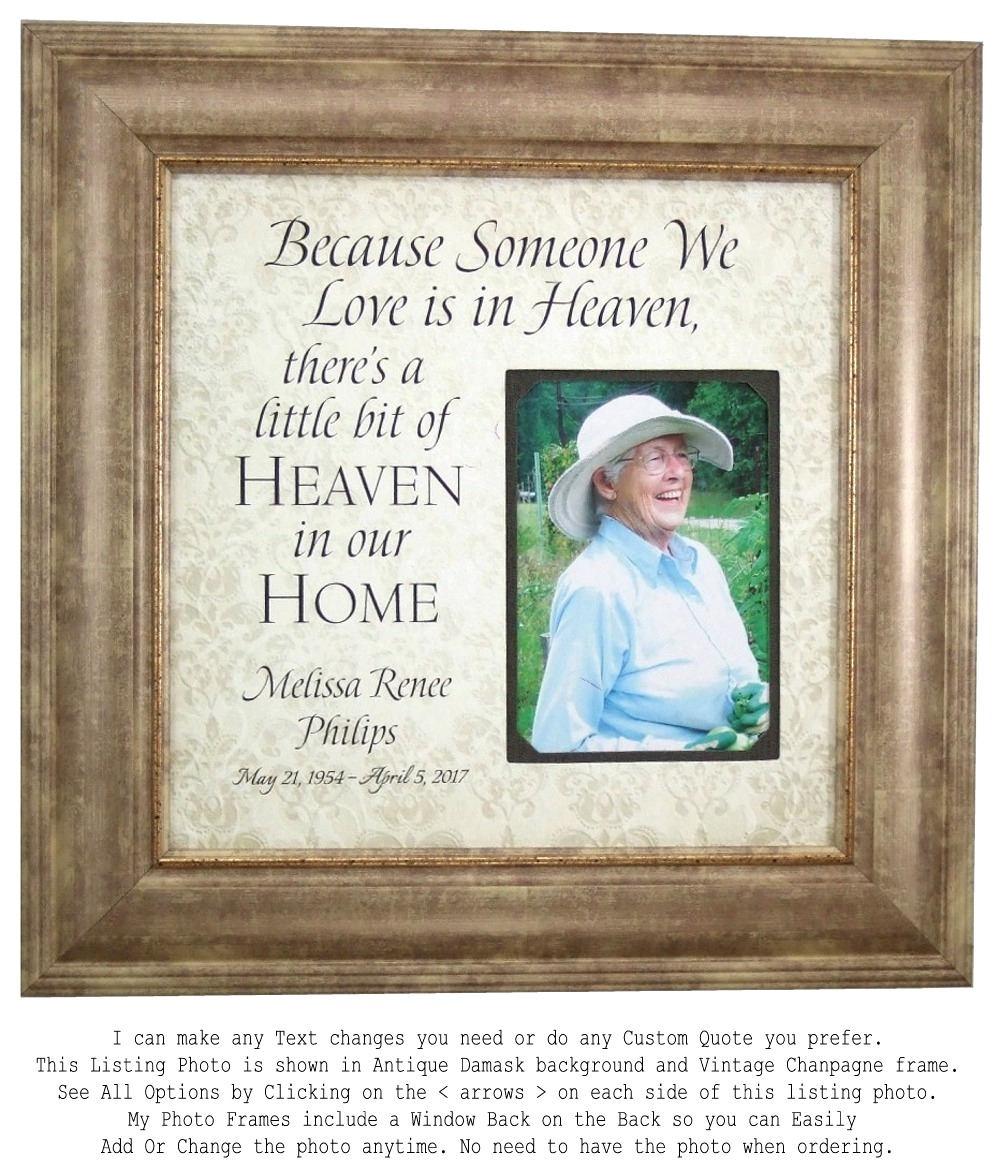 In Memory Of frame Remembrance Gift Wedding Memorial In
