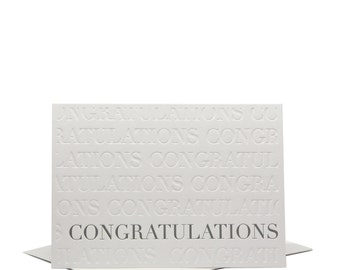 Congratulations - Greeting Card