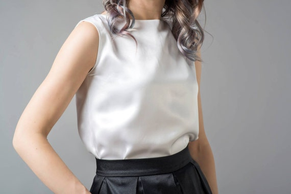 Clarity - silk blouse