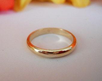 2mm Wedding Band Ring 14k Gold Filled