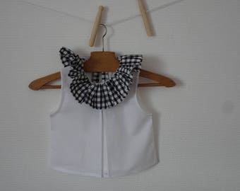 baby sleeveless blouse