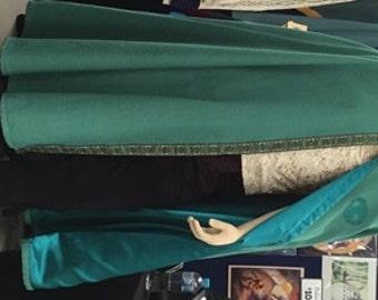 Cloak - aquamarine