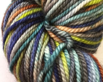 Hand Dyed Yarn - Superwash Cashmerino Yarn, 3 Ply sport weight