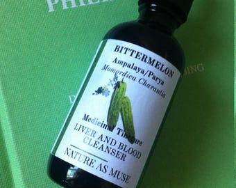 Organic Bittermelon Tincture 2 oz