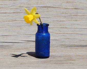 Cobalt Blue Emerson Drug Co. Bromo-Seltzer Bottle