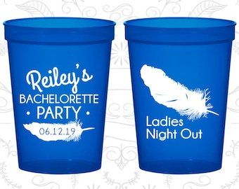 Ladies Night Out, Bachelorette Cups Personalized, Ladies night out Party Cups, Bachelorette Cups (60087)