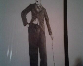 Charlie Chaplin drawing - Dargatis