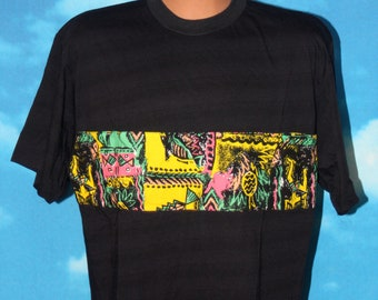 Vintage 1990s Saved by the Bell - Zack Morris - Tammmuori Medium Black T-shirt