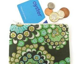 Floral coin purse