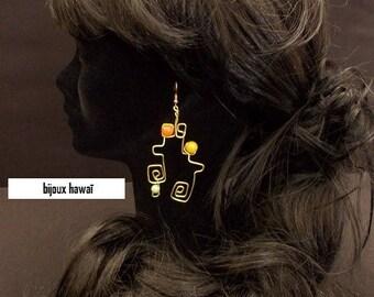 fl aluminum earrings