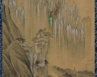 Geumgangsan Falls and Rocks by Jeong Seon -13 (BUY 2 & GET 1 FREE)