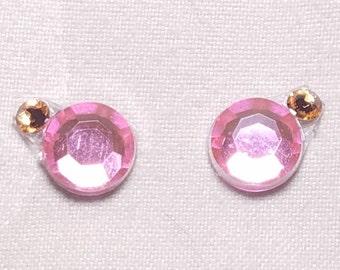 Pink & Tangerine Eye Candies ATS Tribal Fusion Bindi - 00122