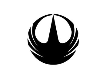 STARWARS- Rogue one REBEL Alliance Quality Vinyl Decal, Yeti, Car, Laptop, Gift, Star Wars