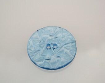 Vintage Blue Button